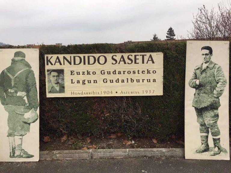 83 urte Kandido Saseta Gudalburuaren heriotzaz