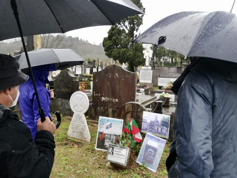 84 urte Kandido Saseta Gudalburuaren heriotzaz